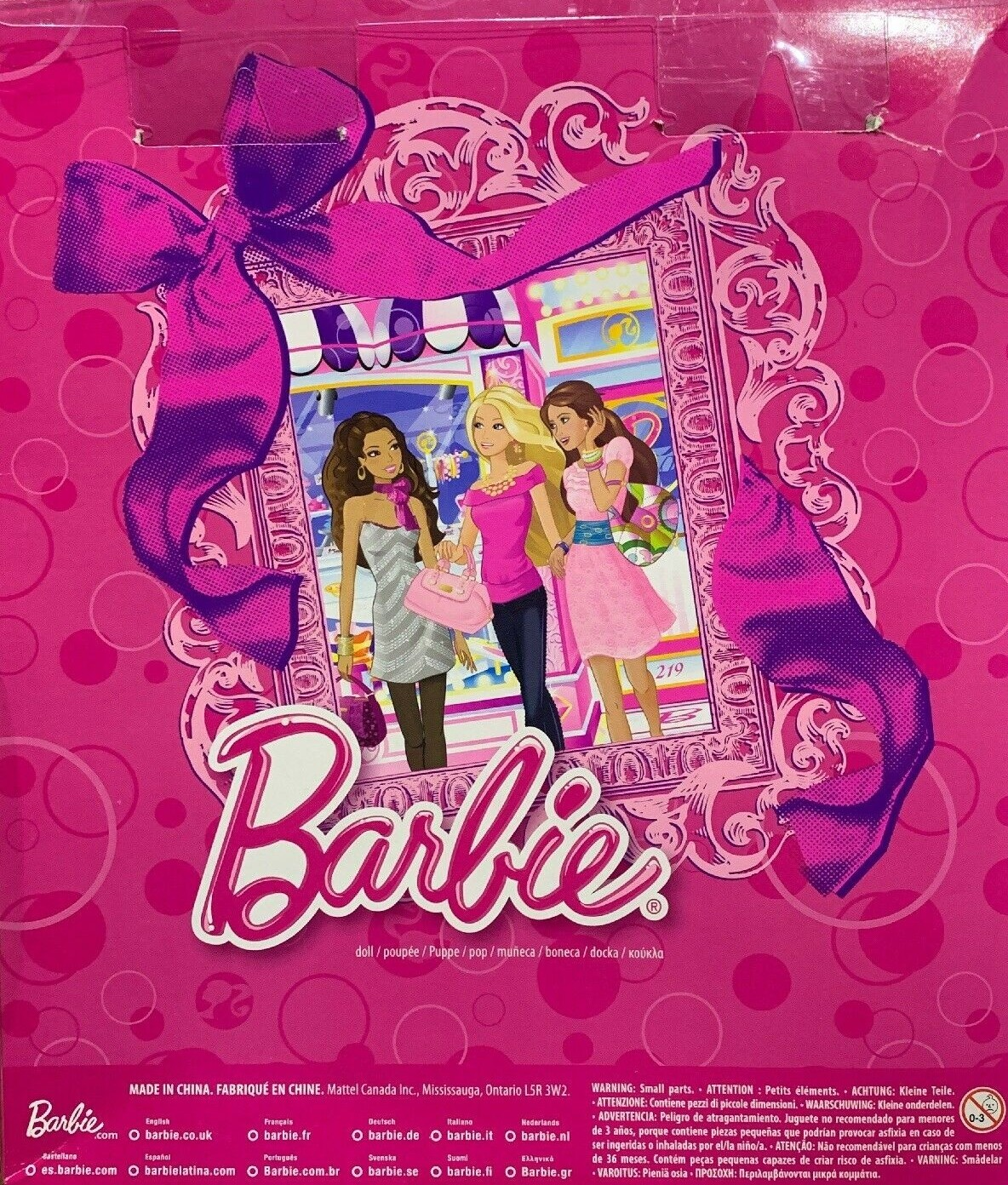 Barbie Blonde And Fashions Gift Set Barbie Reference